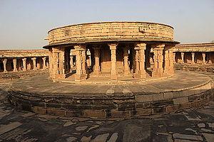 Chausath Yogini Temple, Morena -  Central Sanctorum