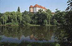 Sandomierz - zamek (fot. Wikipedia, autor - Jerzy Strzelecki, lic. C.C.3,0)