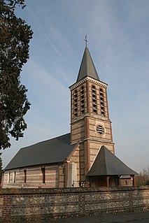 Sandouville Commune in Normandy, France