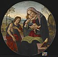 Sandro Botticelli - Madonna and Child with St. John the Baptist - 2014.85 - Indianapolis Museum of Art.jpg