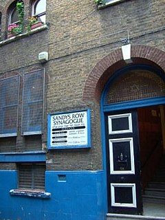 grade II listed synagogue in London Borough of Tower Hamlets, United kingdom