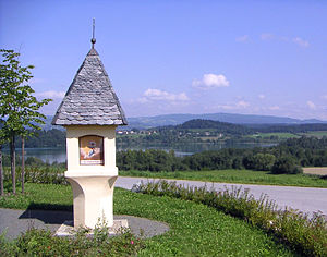 Wayside shrine - Wayside shrine in Sankt Georgen am Längsee