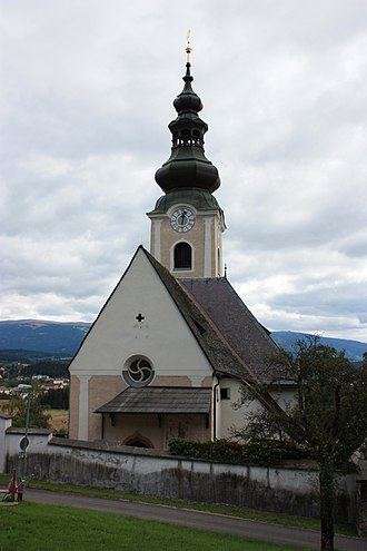Mölbling - Image: Sankt Stefan am Krappfeld Kirche