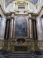 Santa maria maddalena de' pazzi, fi, Cappella Maggiore 07 pala di ciro ferri.JPG
