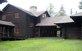 R. H. Robertson - Camp Santanoni main lodge, for Robert C. Pruyn (1892–93)