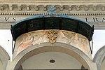 Santissima annunziata, stemma medici tra allegorie (copia da pontormo).jpg