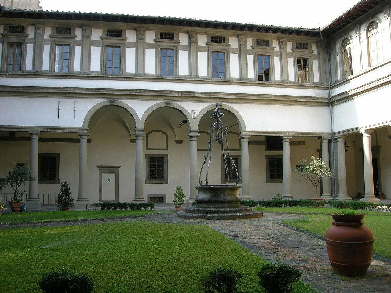 Chiostro Grande dell'Ammannati, Santo Spirito, Firenze