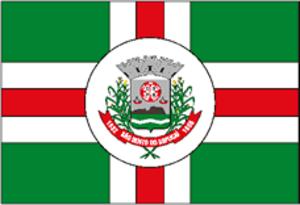 São Bento do Sapucaí - Image: Saobentodosapucai bandeira