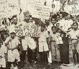 Anti-cession movement of Sarawak Anti-colonial activism in Sarawak, 1946-1950