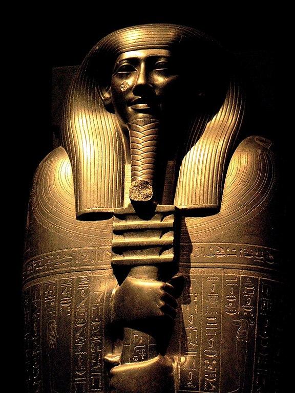 Sarcophage d'Ibi au musée égyptien de Turin - Photo de Robven