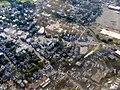 Saugus Branch near Western Avenue aerial photo, July 2016.JPG