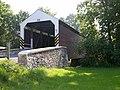 Schenck's Mill Covered Bridge Three Quarters View 3264px.jpg