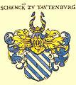 Schenk zu Tautenburg Siebmacher028 - Freiherren.jpg