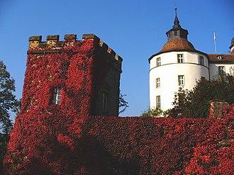 Langenburg - Image: Schloss langenburg turm