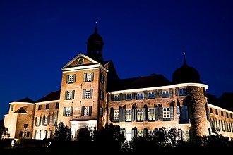 Eutin Castle - Eutin Castle lit up