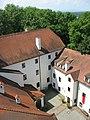 Schloss Ulmerfeld - Innenhof vom Turm aus gesehen.JPG