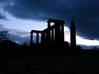 Scotland - Edinburgh - National Monument - Nelson's Monument - Calton Hill.jpg