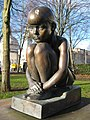 Sculpture in Gorsedd Gardens, Cardiff - geograph.org.uk - 1131598.jpg