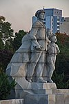 Sculptures at Juche Tower 06.jpg