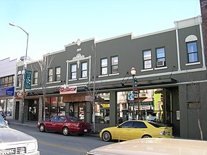 The Ave - This building in the 4200 block was built in 1924 as a mortuary. It now contains restaurants and offices.