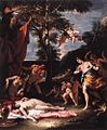 Sebastiano Ricci - The Meeting of Bacchus and Ariadne - WGA19437.jpg