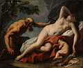 Sebastiano Ricci - Venus and Satyr - Google Art Project.jpg