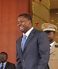 Secretary Clinton Speaks With Togolese President Gnassingbe (cropped)