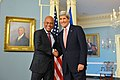 Secretary Kerry Shakes Hands With Haitian President Martelly (12325521394).jpg