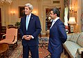 Secretary Kerry and United Arab Emirates Foreign Minister Abdullah bin Zayed Prepare for a Meeting in Washington (28350679260).jpg