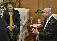 Secretary Pompeo Meets With Israeli Prime Minister Benjamin Netanyahu (46504348382).jpg