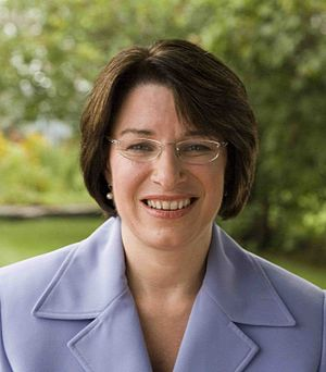 Amy Klobuchar, member of the United States Senate