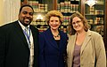 Senator Stabenow discusses the importance of a well-funded Pell Grant program with Michigan higher ed financial aid professionals. (13092260545).jpg