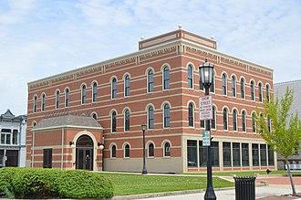 Seneca County, Ohio - Image: Seneca County de facto courthouse