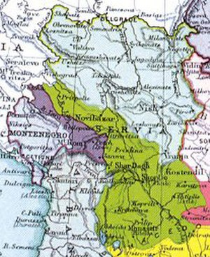 Serbianisation - Territorial expansion of the Kingdom of Serbia after the 1913.