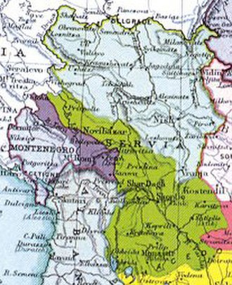 Narodna Odbrana - Territorial expansion of Serbia after Balkan Wars.