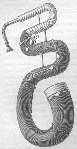 Euphonium - The serpent, the oldest ancestor of all low brass instruments