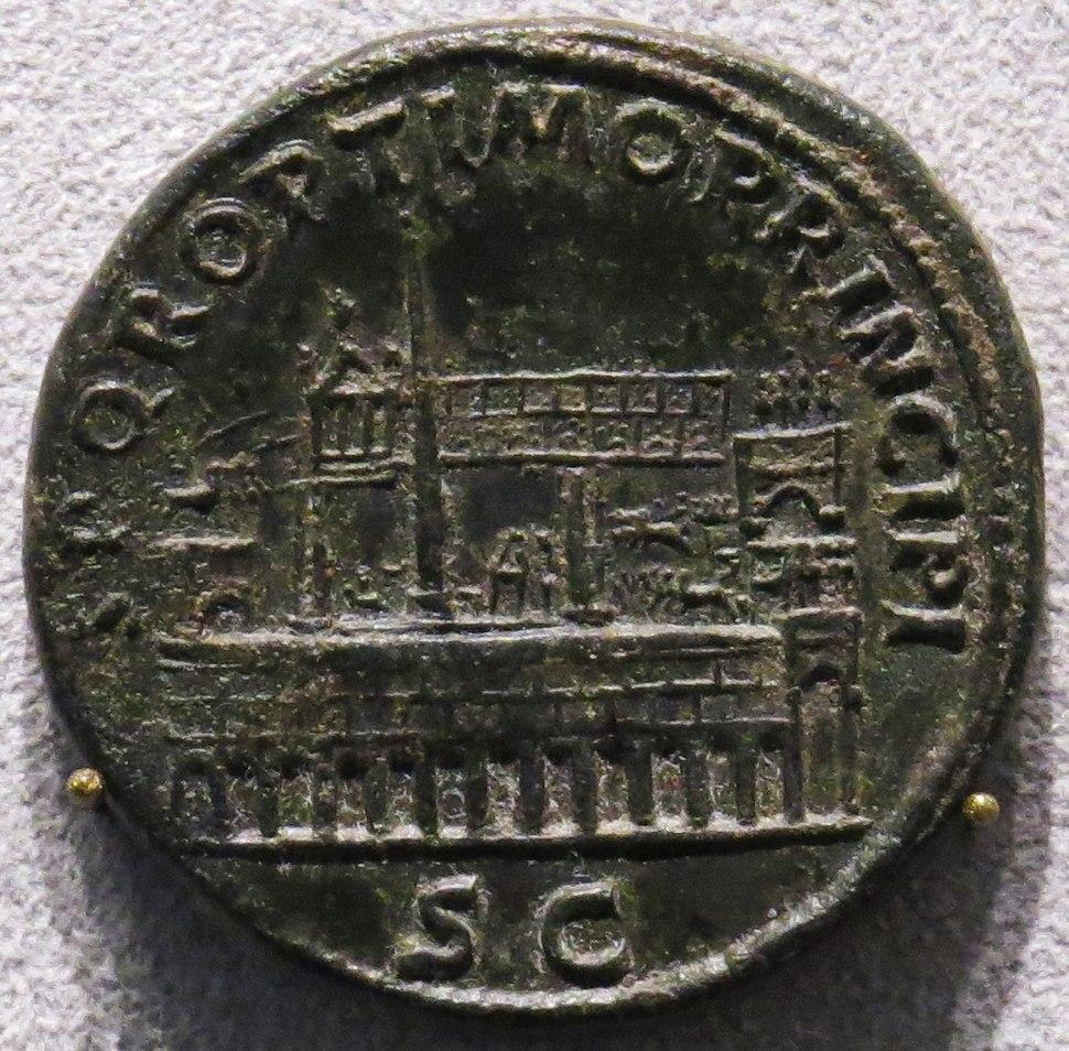 Sestertius Trajan Circus Maximus AD103