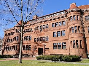 History of Harvard Extension School - Sever Hall
