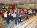 Shanghai students in Town Hall meeting.JPG