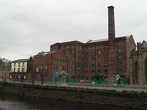 Listed buildings in Sheffield S3 - Image: Sheffield, Aizlewood's Mill geograph.org.uk 794312