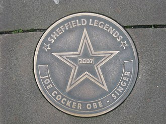 Sheffield Legends - Image: Sheffield Legends Joe Cocker