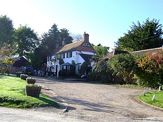 Crowell, Oxfordshire - The Shepherd's Crook pub, formerly the Catherine Wheel