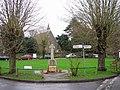 Shepherdswell Church, war memorial and village green - geograph.org.uk - 306534.jpg