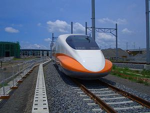 Nippon Sharyo - Taiwan Shinkansen series 700T, made by a consortium including Nippon Sharyo