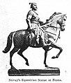 Shivaji's equestrian statue at Pune.jpg