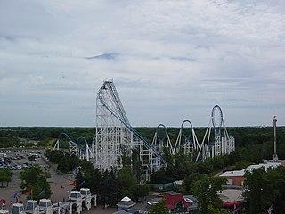 Shockwave (Six Flags Great America) Defunct roller coaster at Six Flags Great America