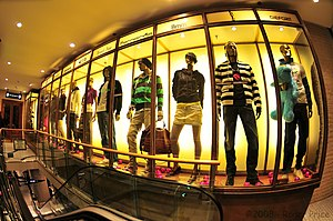 Metrosexual - By 2004, men were buying 69 per cent of their own apparel, according to retail analyst Marshal Cohen