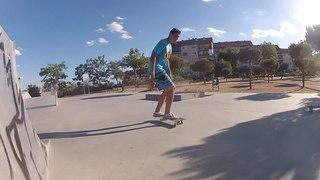 Shove-it skateboarding trick