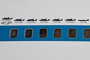 Shuttle Carrier Aircraft - Silhouettes