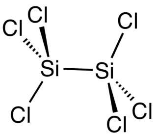 Hexachlorodisilane chemical compound